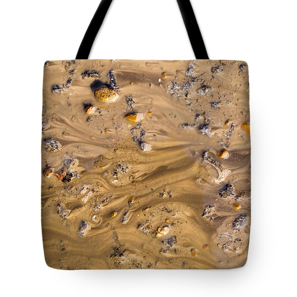 Stones In A Mud Water Wash Tote Bag
