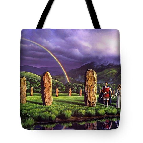 Stones Of Years Tote Bag