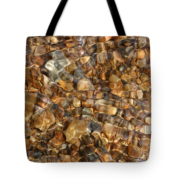 Stones Through Ripples Tote Bag