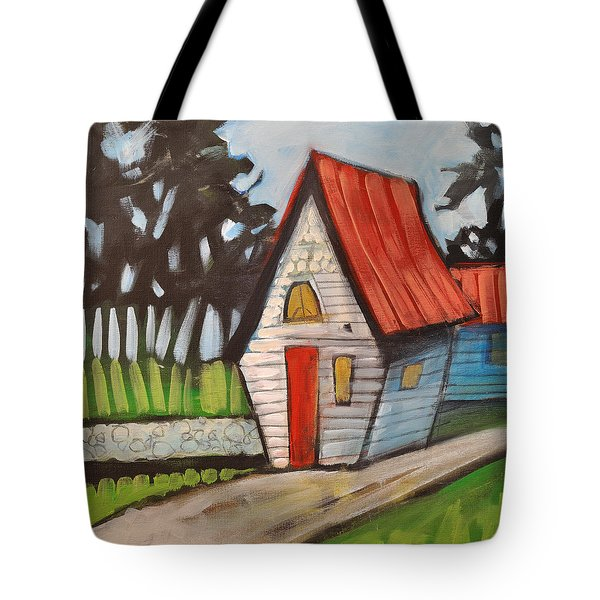 Stonewall Cottage Tote Bag by Tim Nyberg