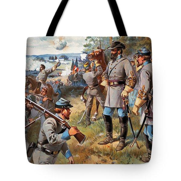 Stonewall Jackson, 1861 Tote Bag by Granger