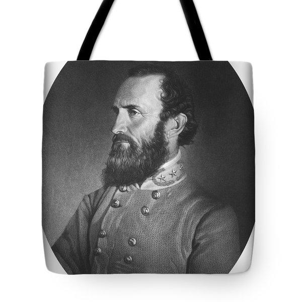 Stonewall Jackson - Confederate Army General Tote Bag