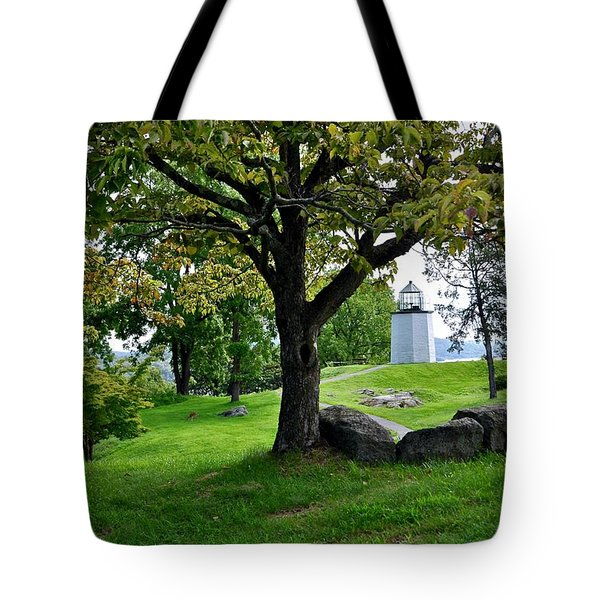 Stony Point Landscape Tote Bag