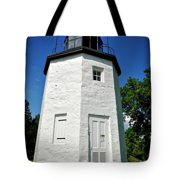 Stony Point Lighthouse Tote Bag