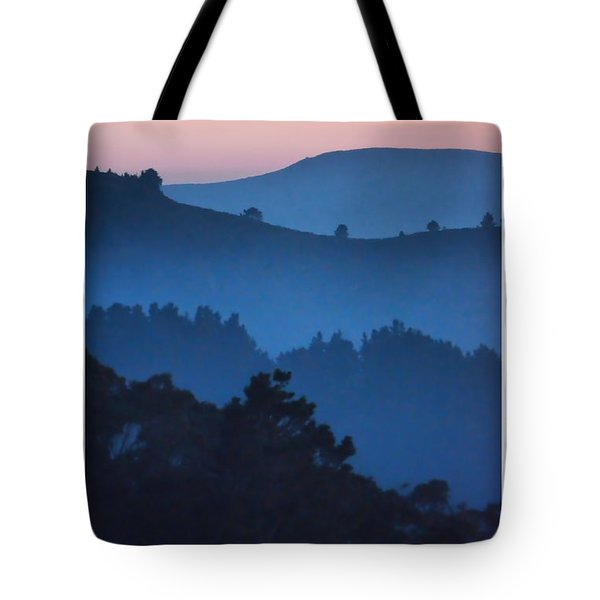 Stood Alone On The Mountain Top Tote Bag
