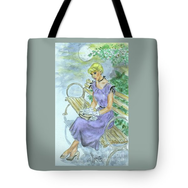 Tote Bag featuring the painting Stood Up by P J Lewis