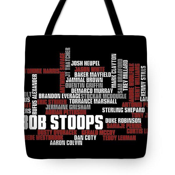 Stoops Greatest Sooners Tote Bag