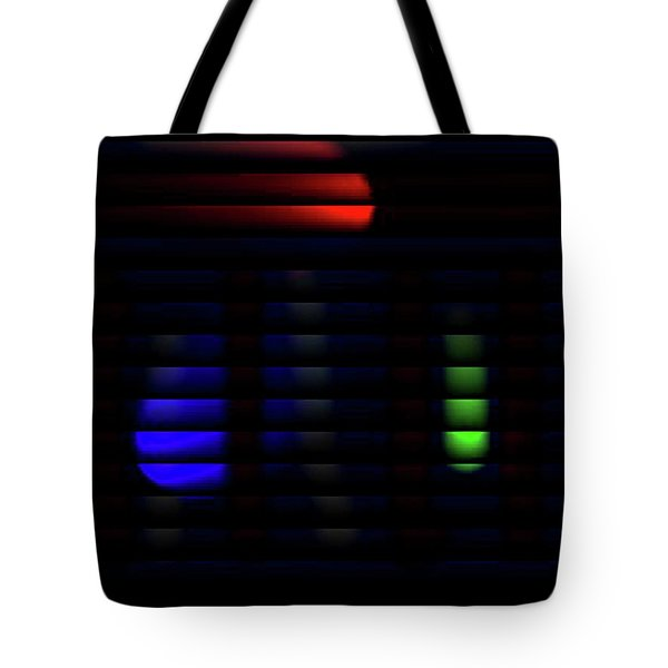 Stop And Go Blinds Tote Bag