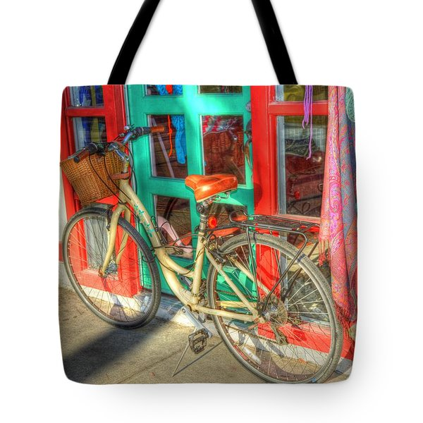 Stop And Shop Tote Bag