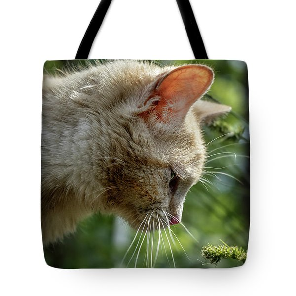 Stop And Smell The Flowers 9433a Tote Bag