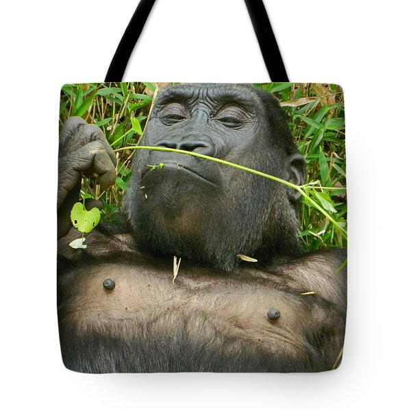 Stop And Smell The Grass Tote Bag