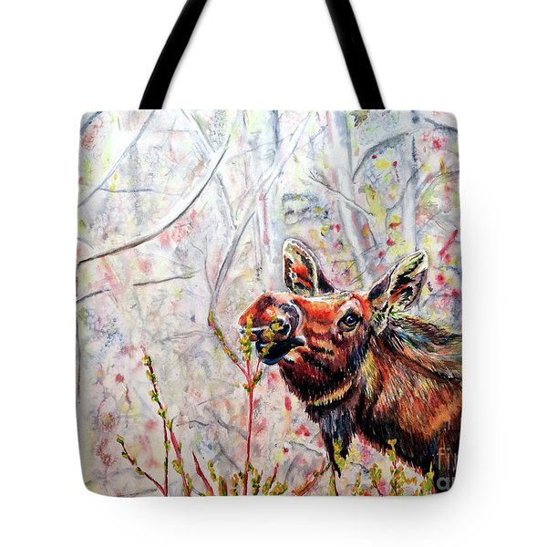Stop To Smell The Weeds Tote Bag by Tracy Rose Moyers