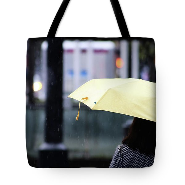 Tote Bag featuring the photograph Stop To Thoughts  by Empty Wall
