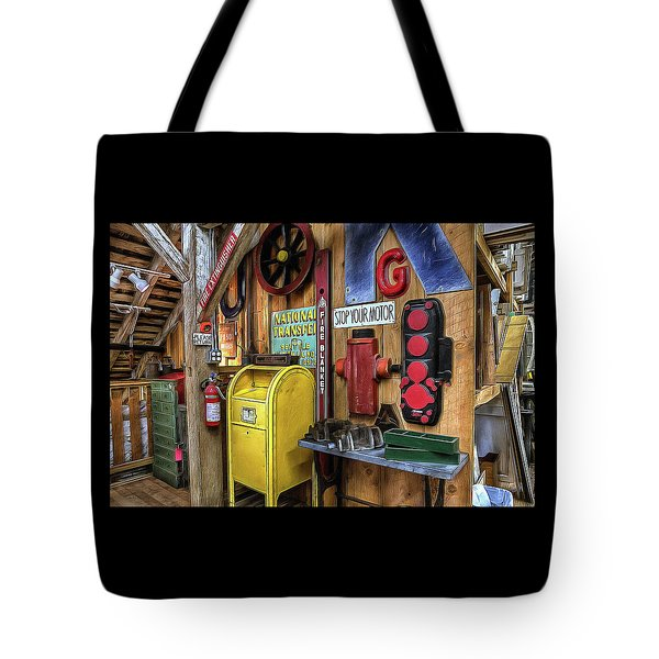 Stop Your Motor Tote Bag