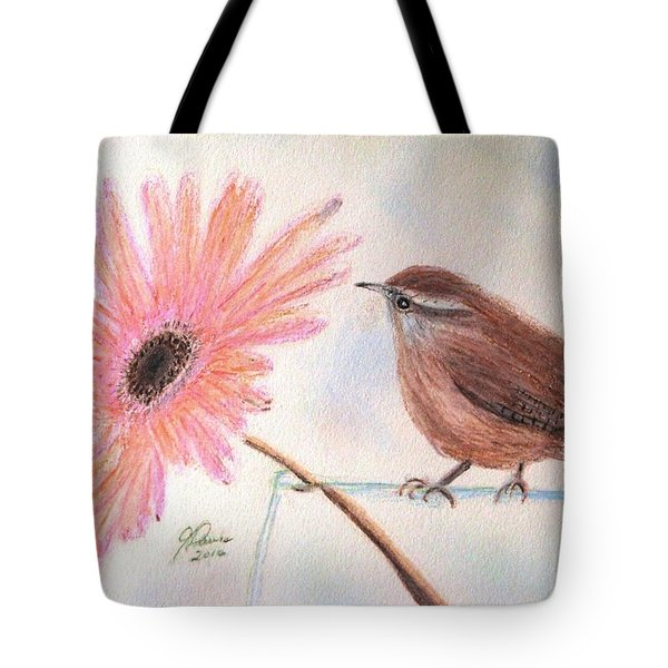 Stopping By To Say Hello Tote Bag