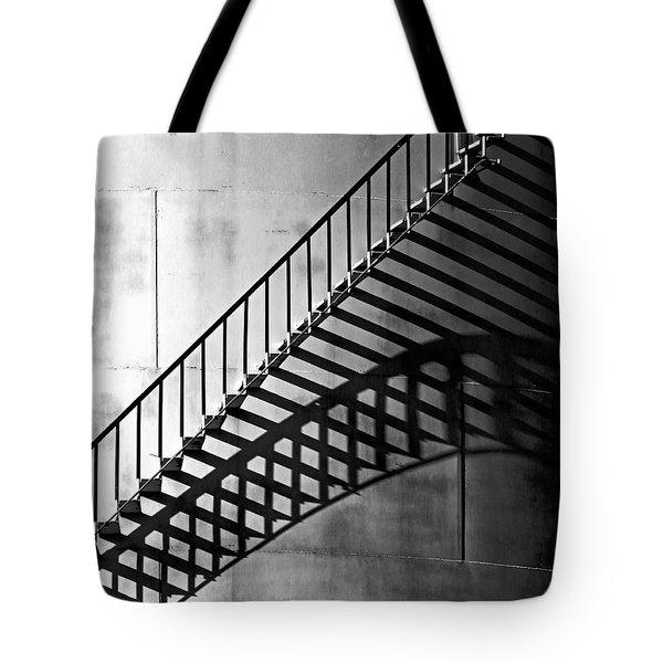 Storage Stairway Tote Bag