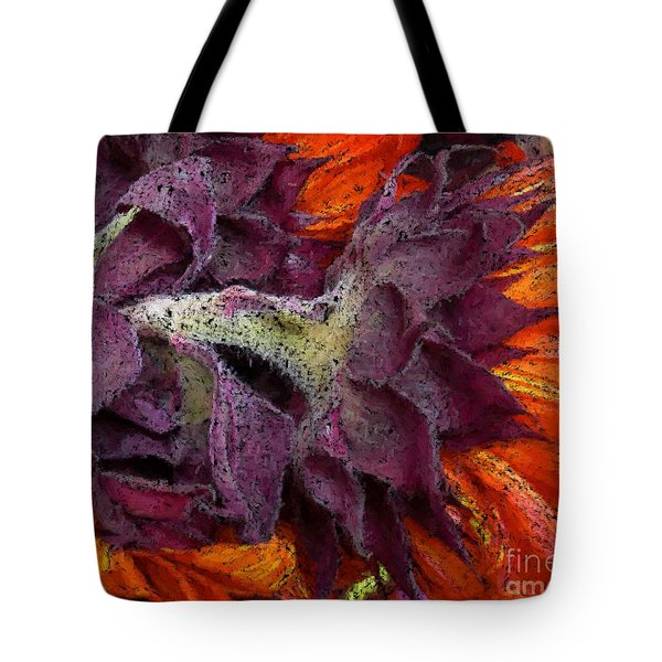 Store Flower Tote Bag by Ron Bissett