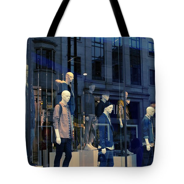 Store Window, London,uk Tote Bag
