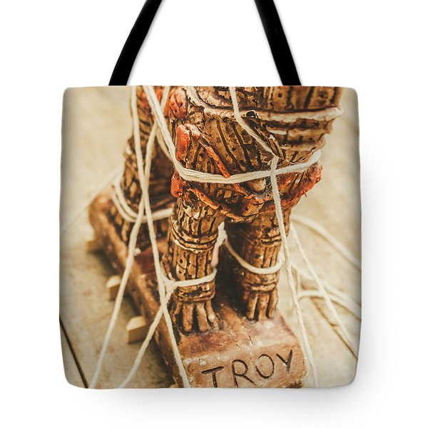 Stories From Ancient Troy Tote Bag