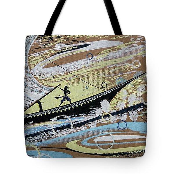 Storm At The Sea Tote Bag