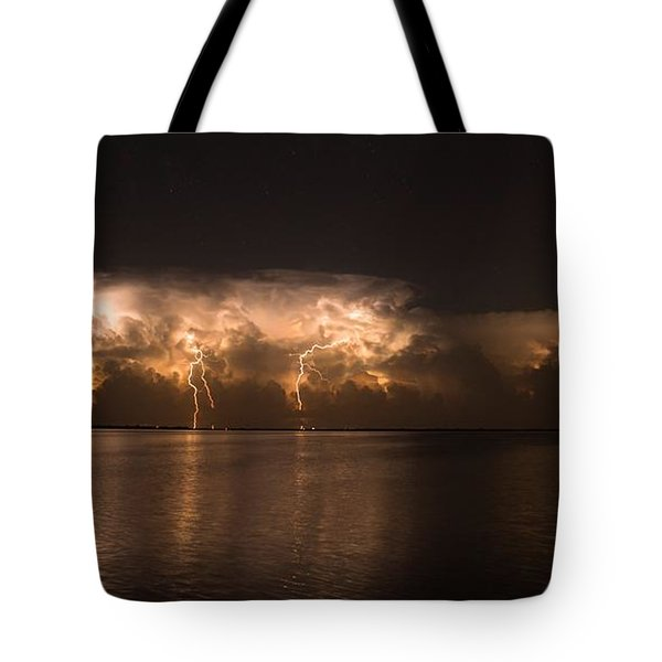 Storm Before Dawn Tote Bag