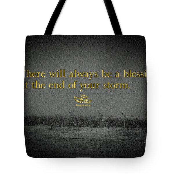 Storm Blessings Tote Bag