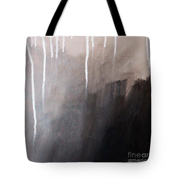 Storm Brewing Tote Bag by Linda Woods
