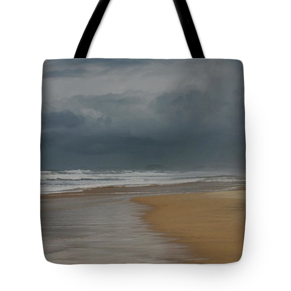 Storm Brewing On The Gold Coast Tote Bag