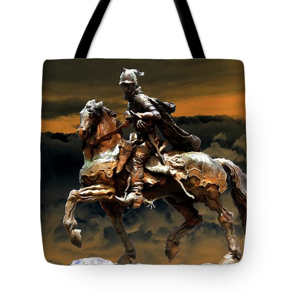 Storm Bringer Tote Bag by David Lee Thompson