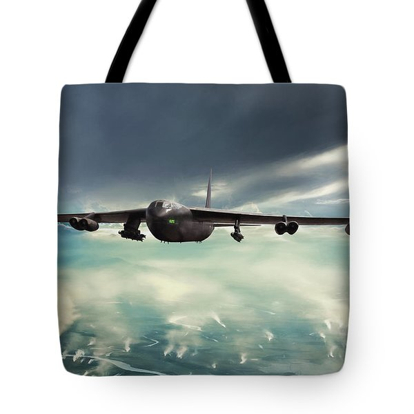 Tote Bag featuring the digital art Storm Cell by Peter Chilelli