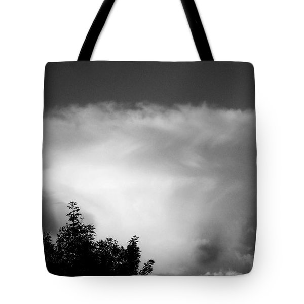 Storm Cloud Tote Bag by Juergen Weiss