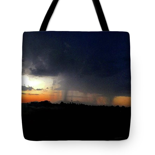 Storm Cloud Tote Bag