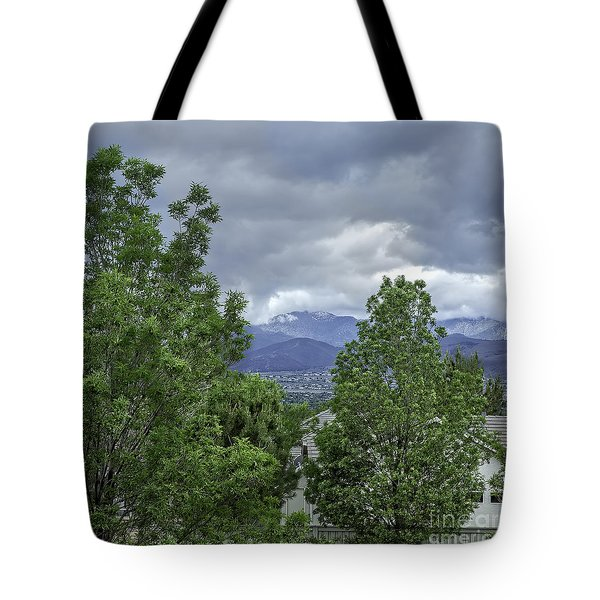 Storm Clouds-2 Tote Bag