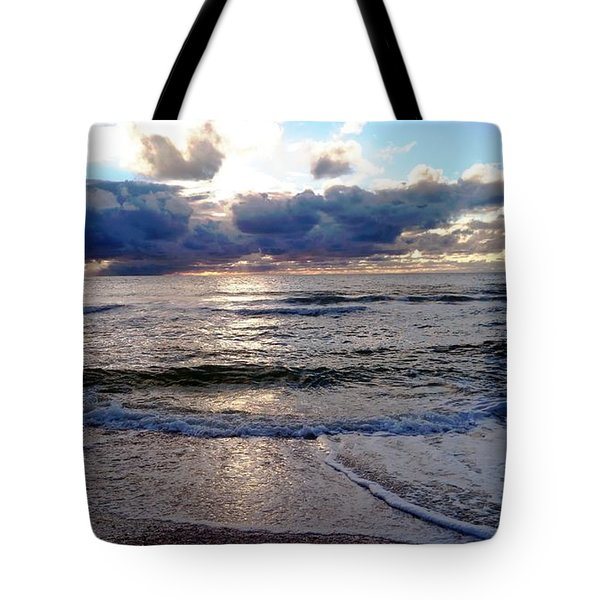 Tote Bag featuring the photograph Storm Clouds 2 by Vicky Tarcau