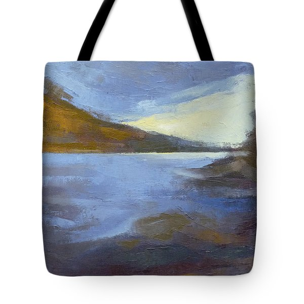 Storm Clouds Break Over The River Gorge Tote Bag