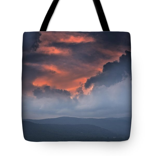 Tote Bag featuring the photograph Storm Clouds by Ken Barrett