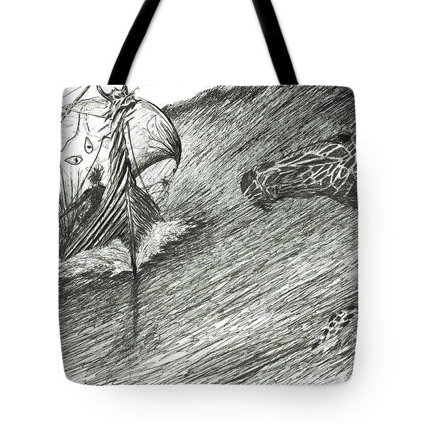 Storm Creator Atlantic Tote Bag