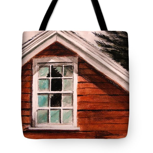 Storm Damage Tote Bag by John Williams