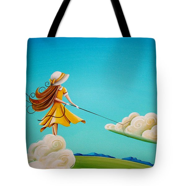 Storm Development Tote Bag by Cindy Thornton