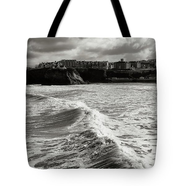 Storm Doris Tote Bag by Nicholas Burningham