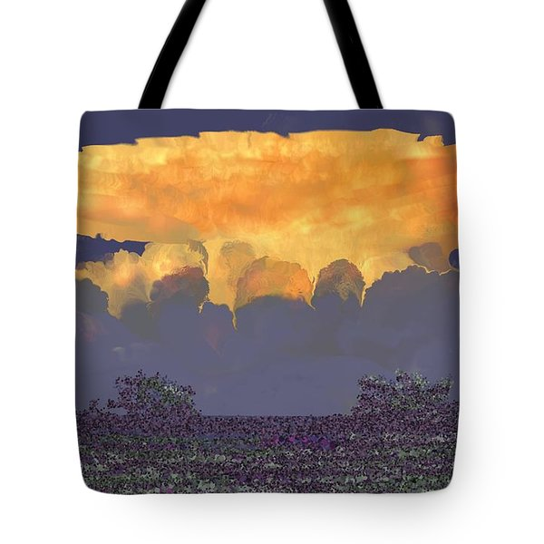 Storm East Of Victoria Tote Bag