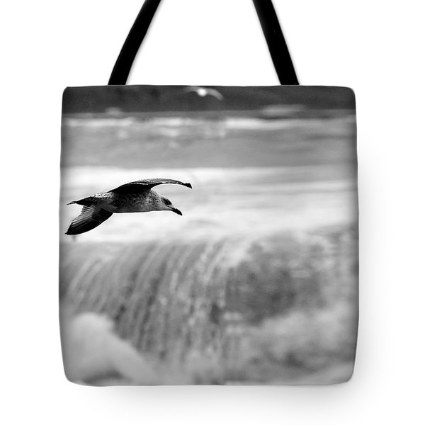 Storm Flight Tote Bag