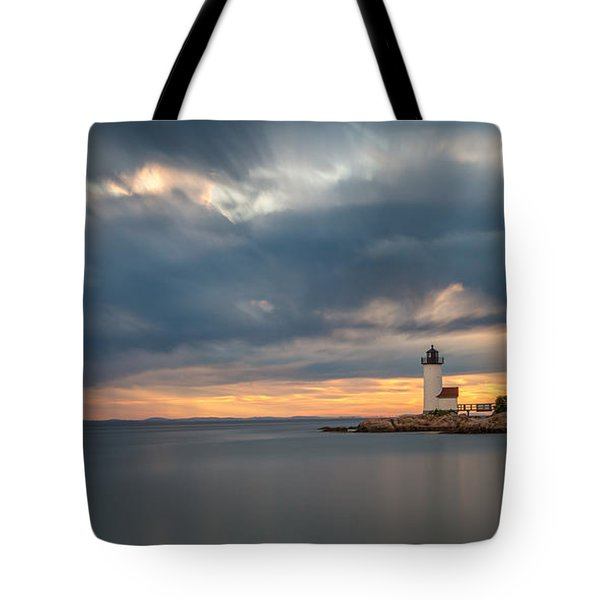 Storm Heading Out Tote Bag