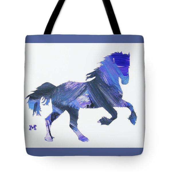 Storm Horse Tote Bag