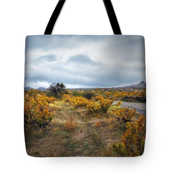 Storm In Cappadocia Tote Bag by Yuri Santin