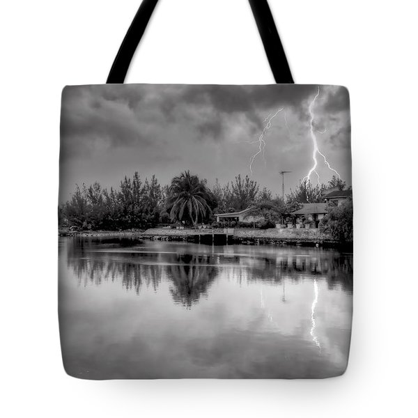 Storm In Paradise Tote Bag