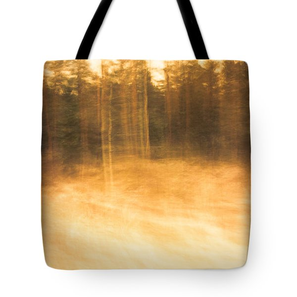Storm In The Forest Tote Bag