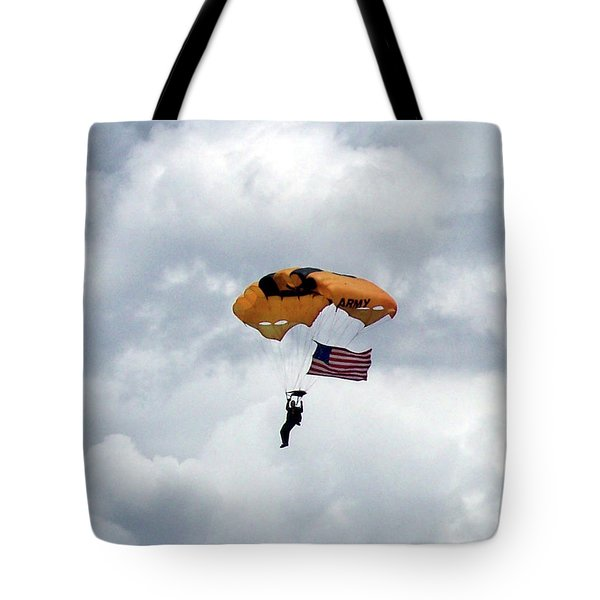 Storm Jump Tote Bag