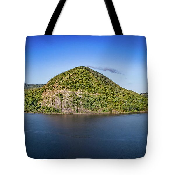 Storm King Mountain From Breakneck Ridge Tote Bag