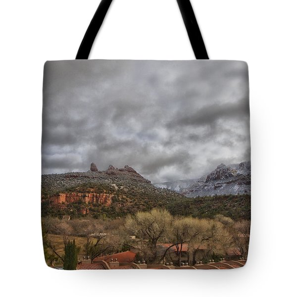 Storm Lifting Tote Bag by Tom Kelly
